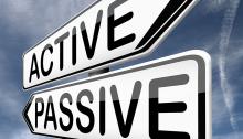 active-passive-roadsign